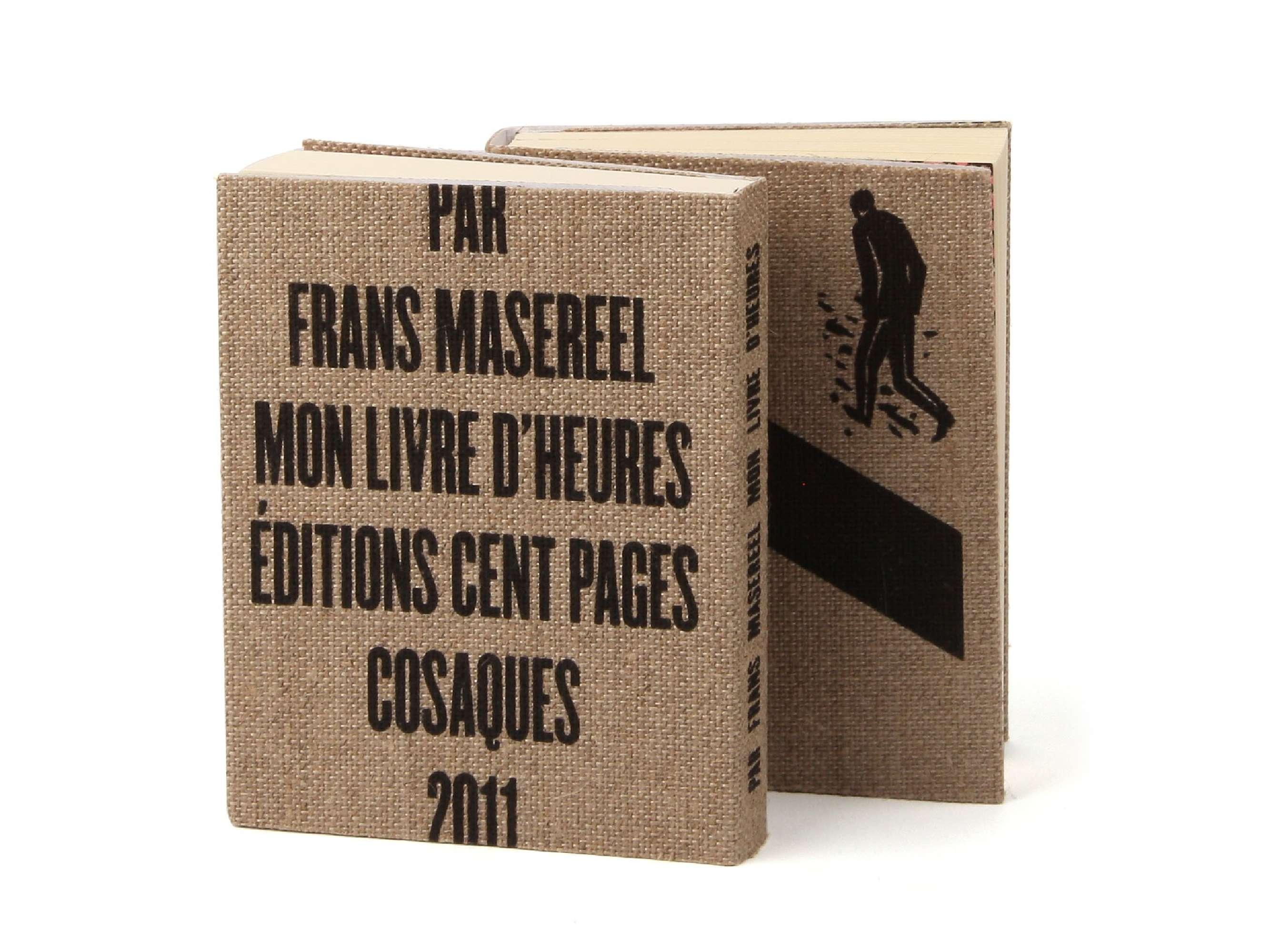 Éditions cent pages Frans Masereel SP Millot Mon livre d'heures