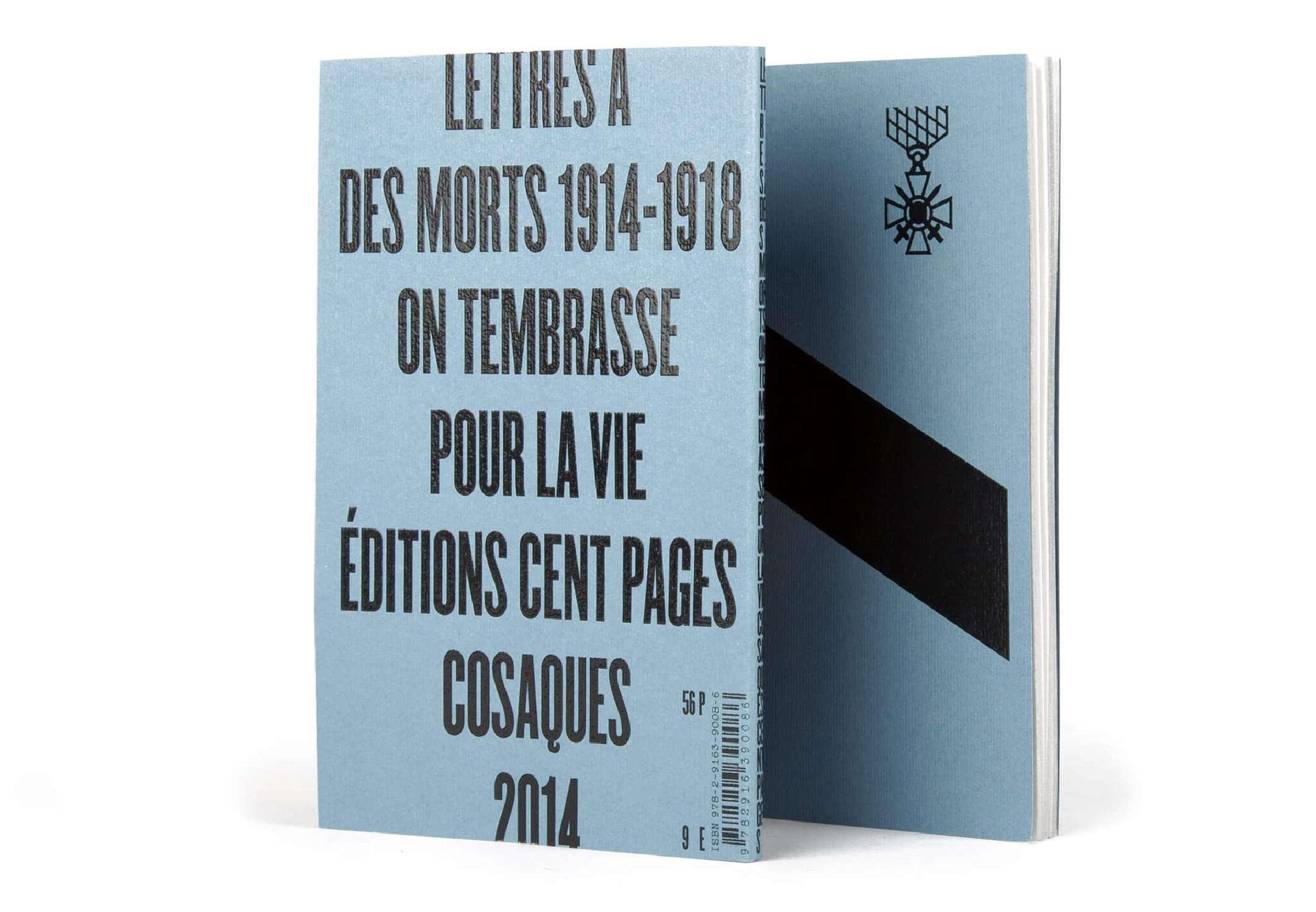 Lettres à des morts 1914...