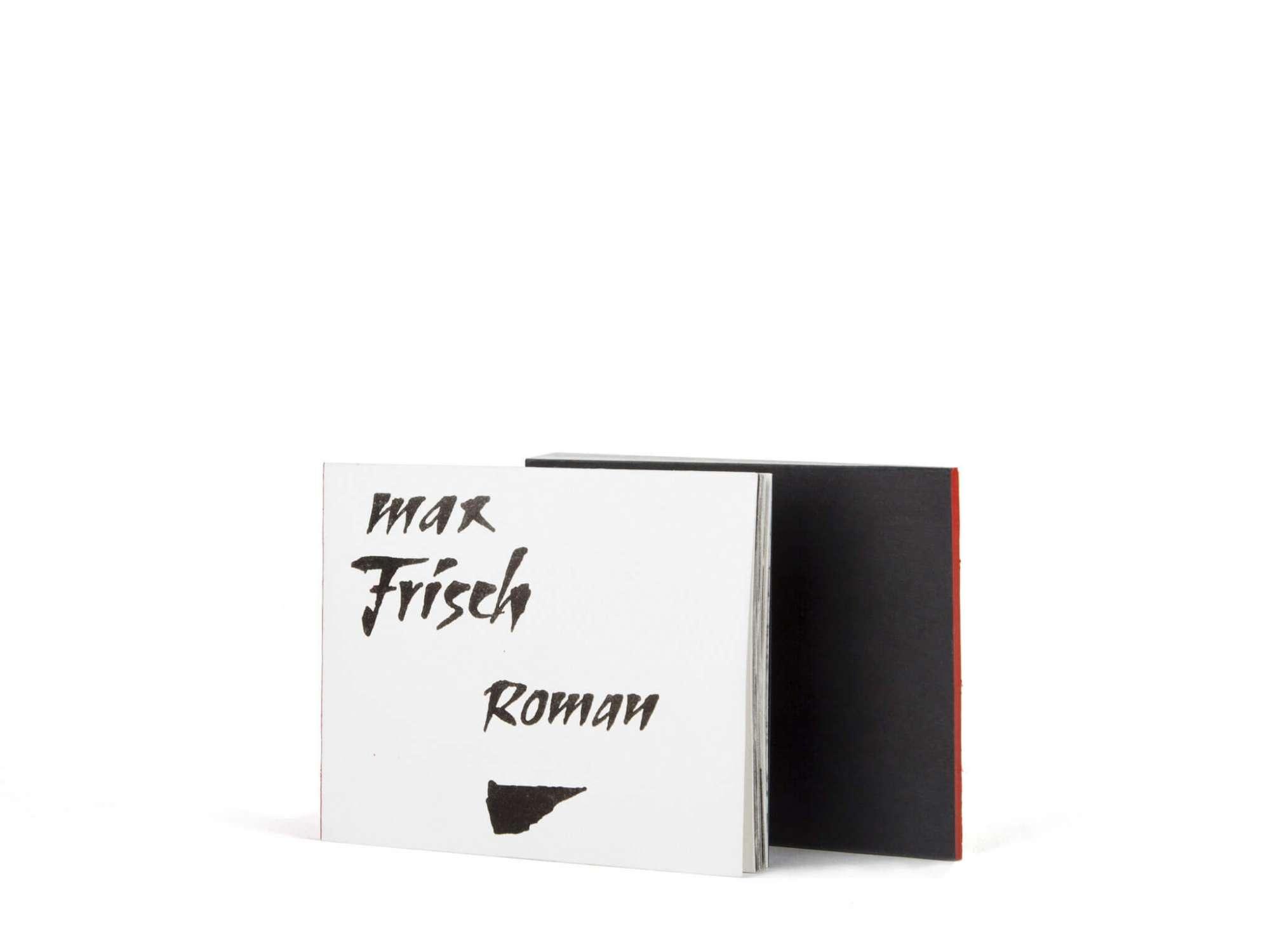 Max Frisch Roman