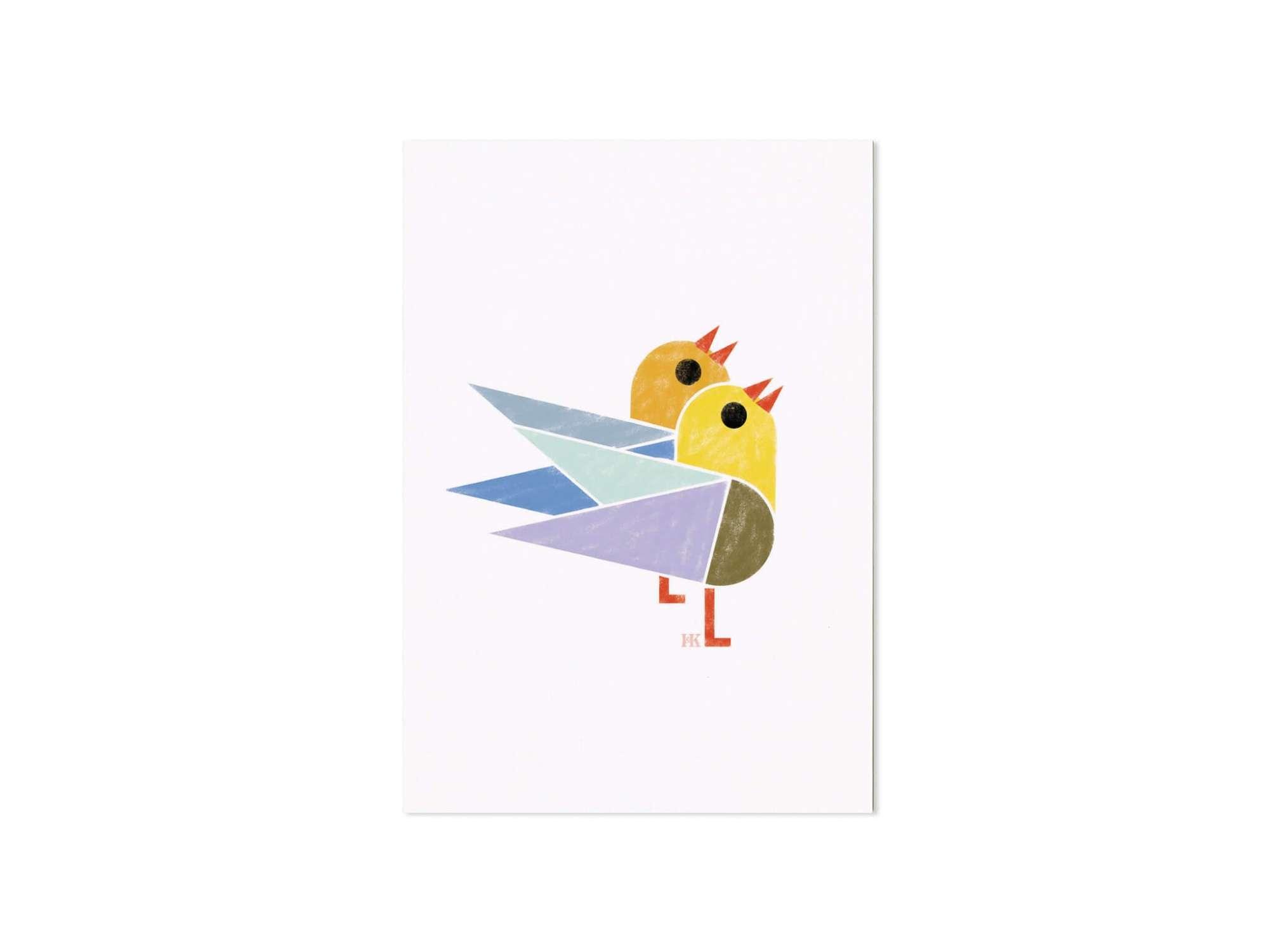 Birdy, de petits oiseaux à envoyer à vos amis, à vos rencontres, à adopter, à faire vivre chez soi, pour soi par Ichetkar.
