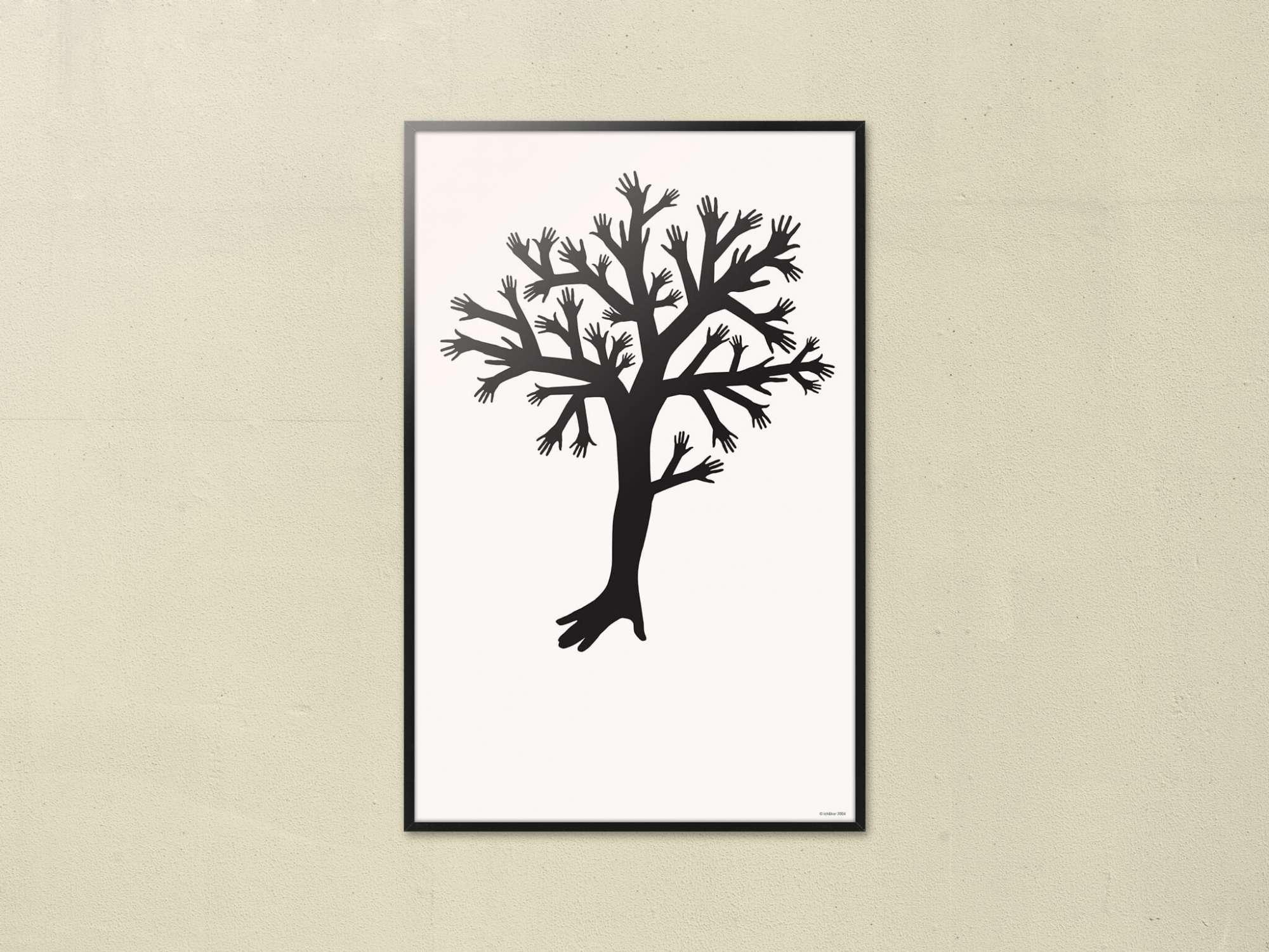 affiche Tree • 37 x 58 cm