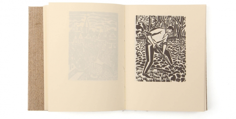 Bois gravé L'Assiette au beurre 1919 Première guerre  mondiale livre éditions cent pages