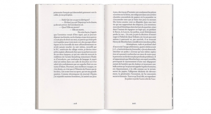 littérature française autobiographie quai voltaire