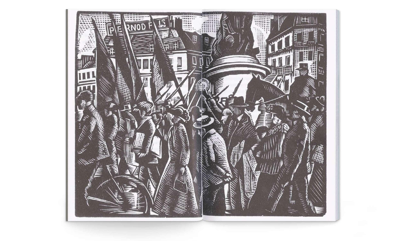 Voyage au bout de la nuit Louis-Ferdinand Céline bois gravé édition illustrée