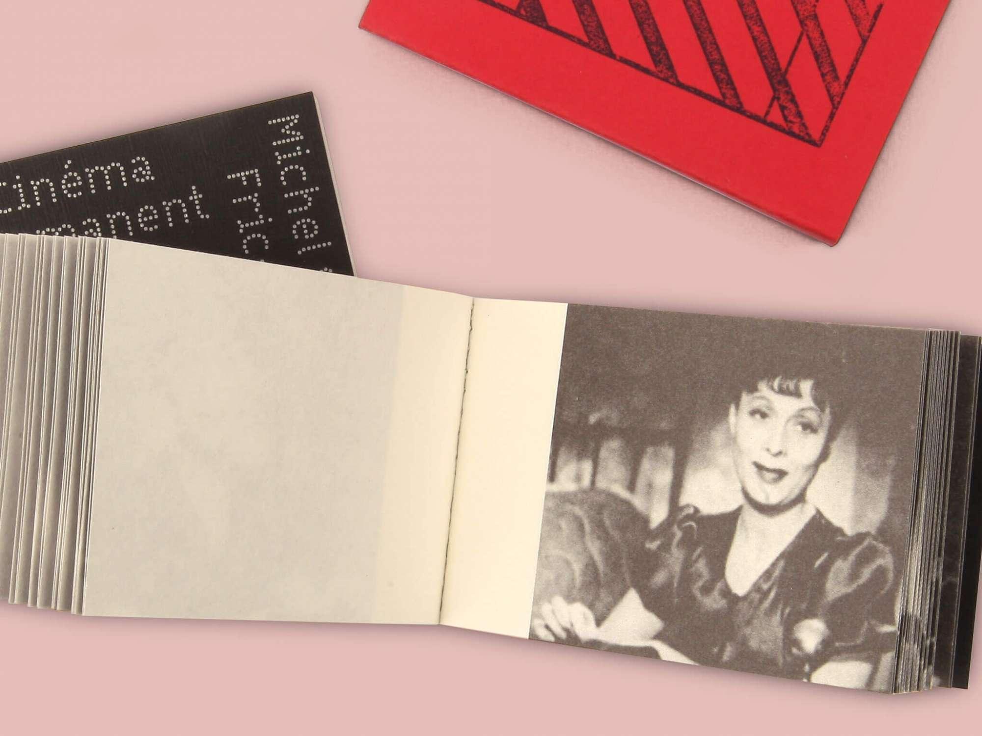 Cinéma permanent - Fric-Frac Éditions cent pages page intérieure Arletty