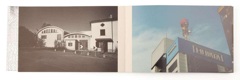 Denis Vedelago Parages Éditions cent pages page intérieure photographies noir et couleur