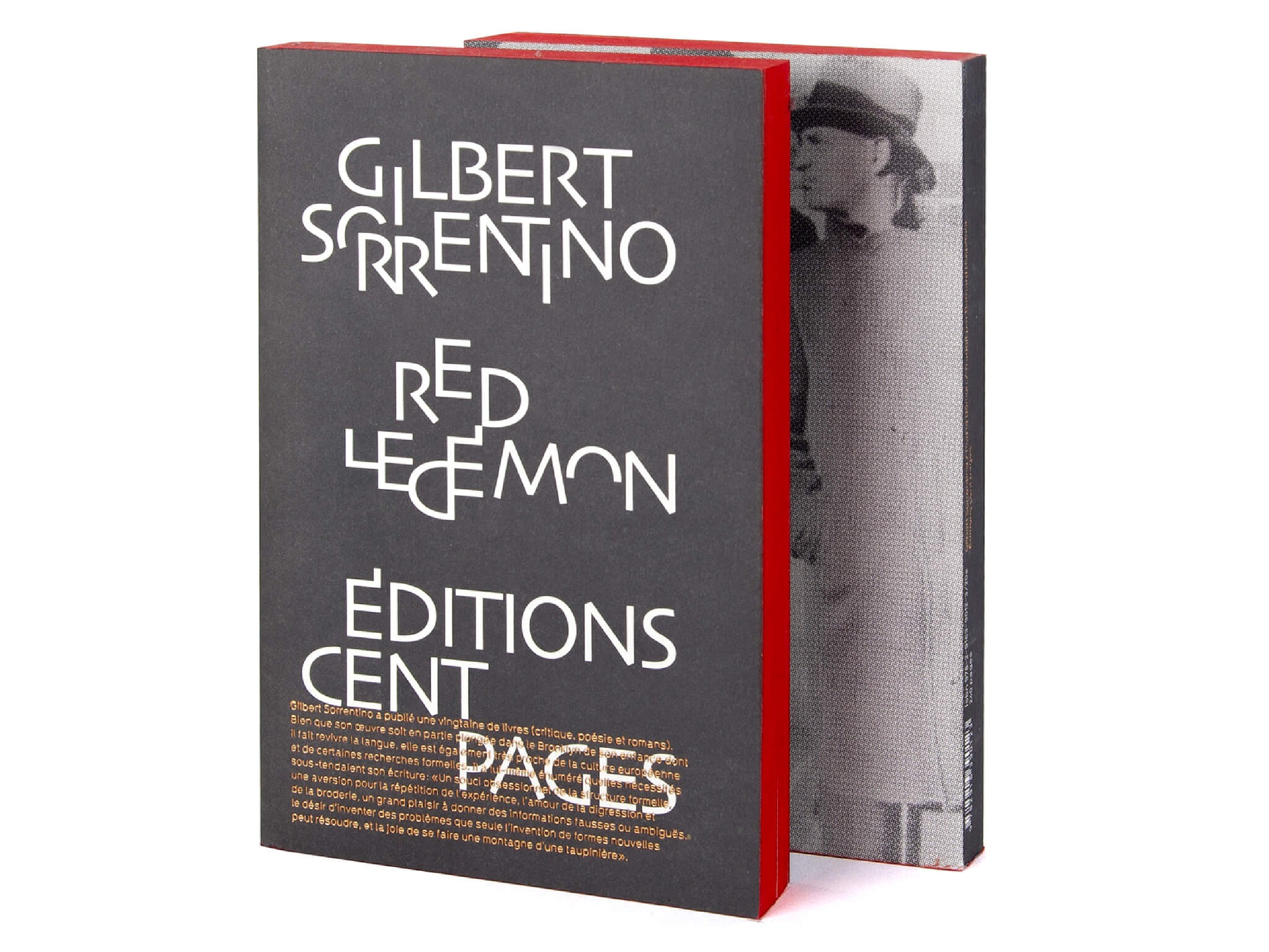 Gilbert Sorrentino Red le démon Éditions cent pages collection Rouge-Gorge traduction Bernard Hœpffner Couverture