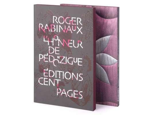 Roger Rabiniaux L'Honneur de Pédonzigue Éditions cent pages Couverture