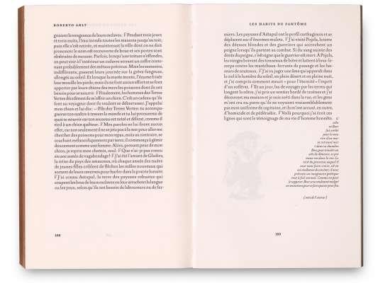 Roberto Arlt Le petit bossu Éditions cent pages pages intérieures 158-159 Nouvelle Les habits du fantôme