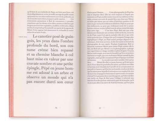 Gilbert Sorrentino Red le démon Éditions cent pages pages intérieures SP Millot Brooklyn L'enfance de Red