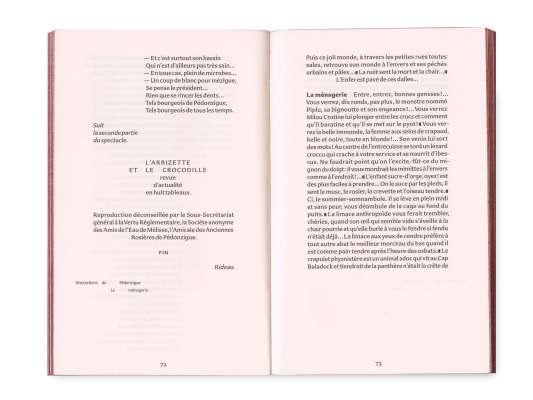 Roger Rabiniaux L'Honneur de Pédonzigue Éditions cent pages pages intérieures 72-73