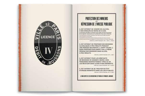 """double page du livre menu """"Le monde selon Andy Wahloo"""" par Ich&Kar"""