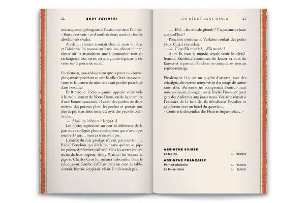 16 nouvelles de Jean Réal pour raconter les histoires d'Andy wahloo. menu-livre ou livre-menu ?