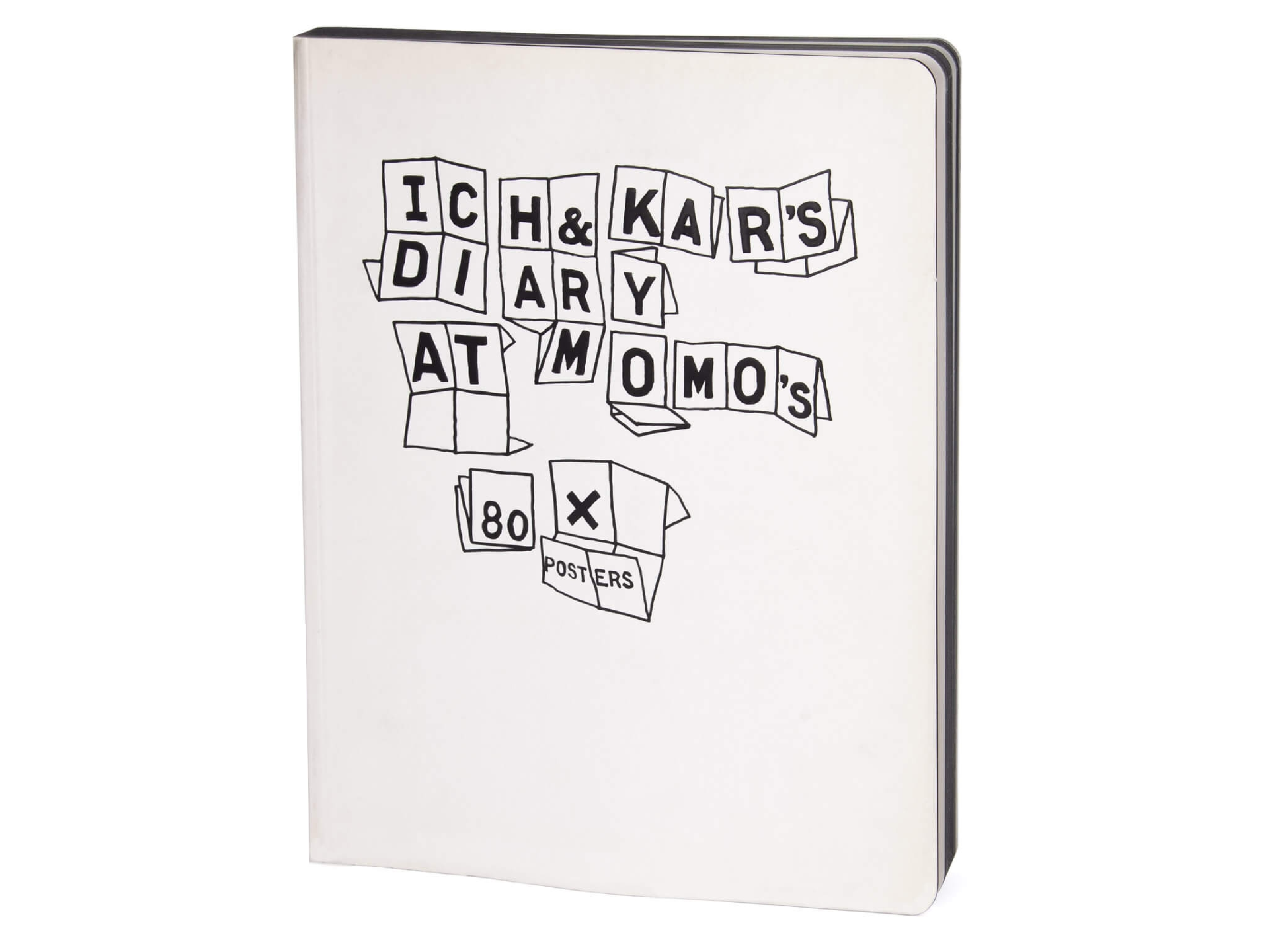 Couverture du livre Ich&kar's diary at Momo.