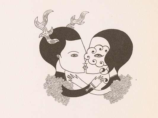 livre d'illustration de l'artiste fred le chevalier