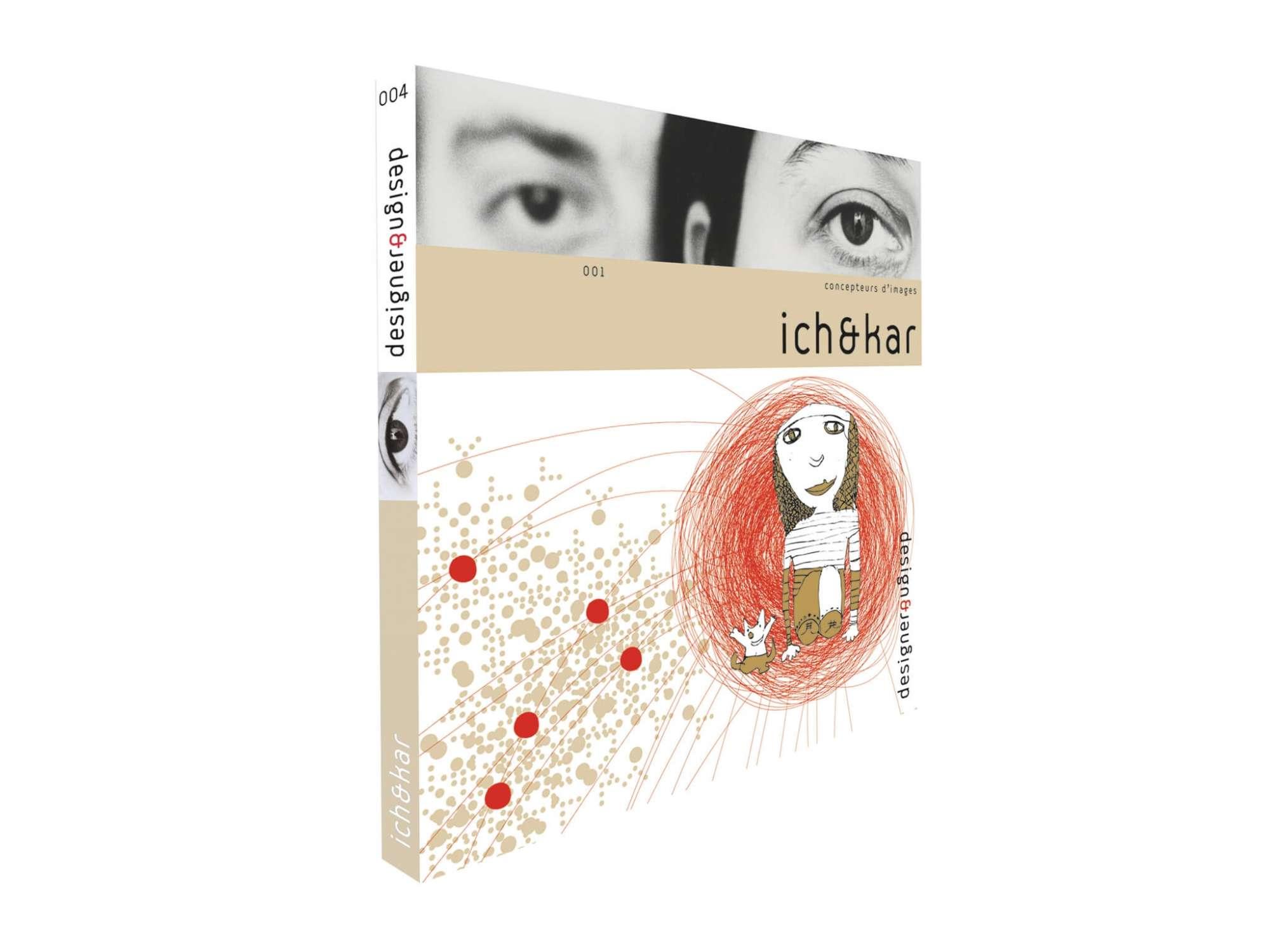 Couverture du livre ichetkar concepteurs d'images chez les éditions design et designer.