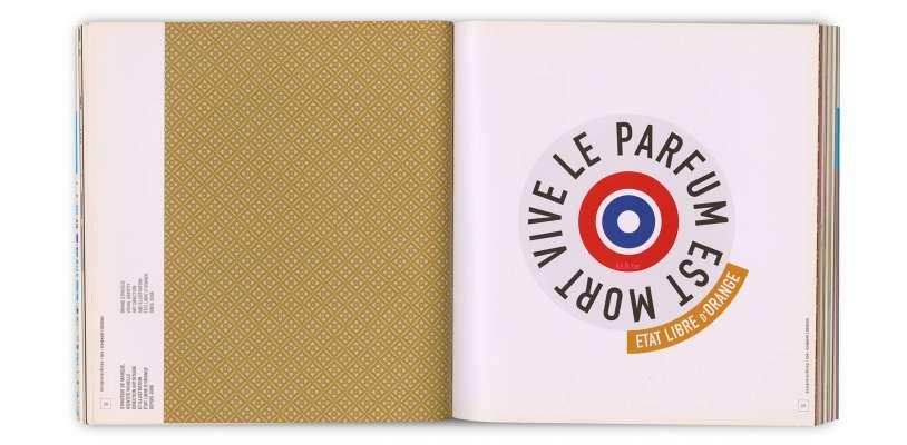 identité visuelle dessiné par Ichetkar pour la marque parisienne de parfum Etat libre d'orange.