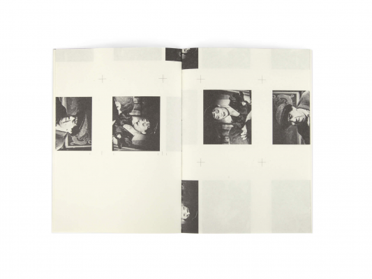 un carnet fabriqué artisanalement par Olivier Gadet à partir du livre objet fric-frac aux éditions Cent pages