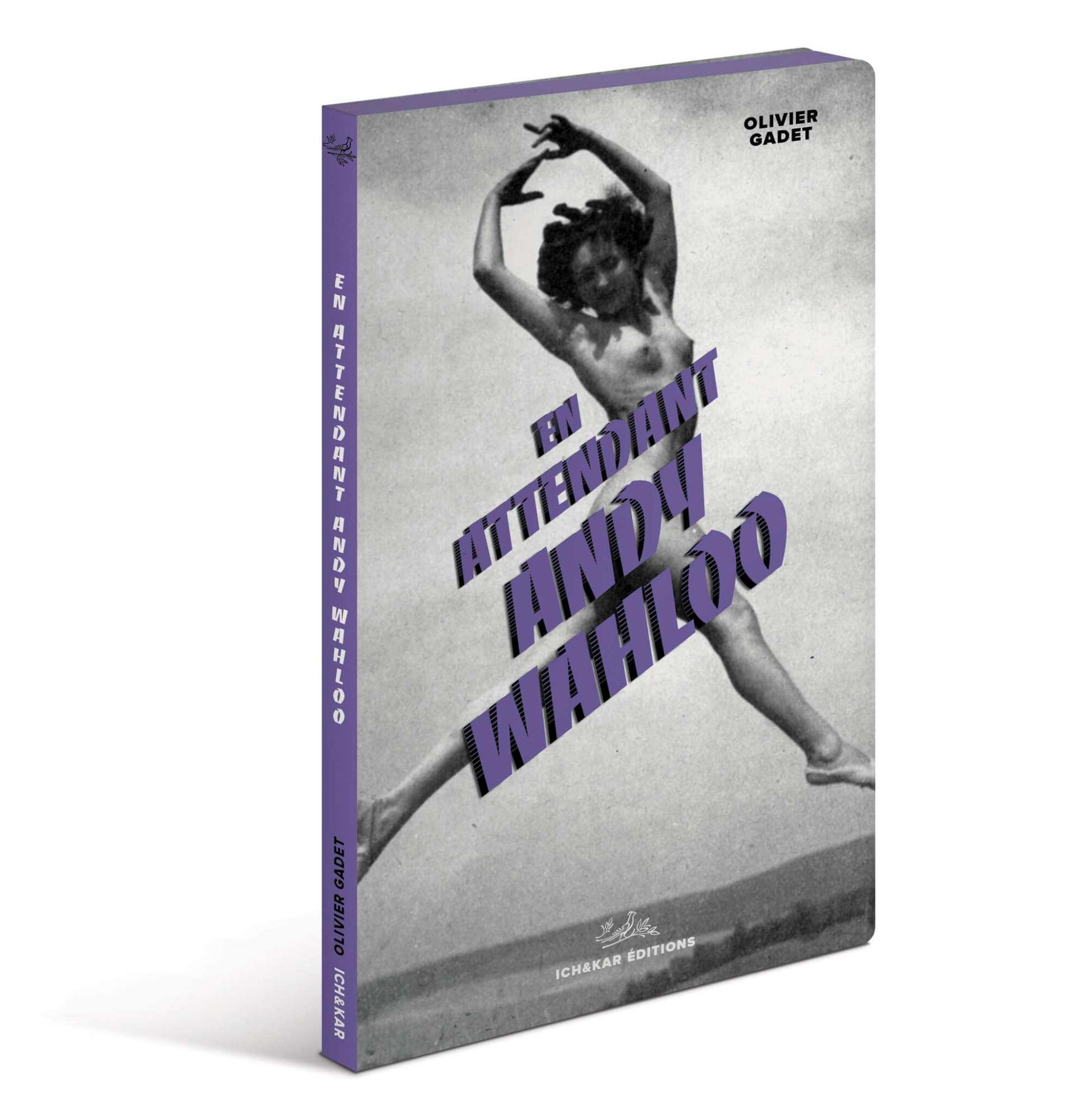 La carte livre 2019 du bar Parisien Andy Wahloo est un recueil de nouvelles écrit par Olivier Gadet, design Ichetkar