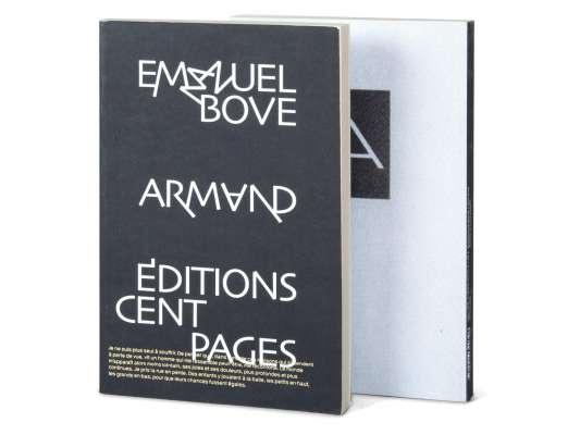 Couverture du livre Armand d'Emmanuel Bove edité par les editons Cent pages