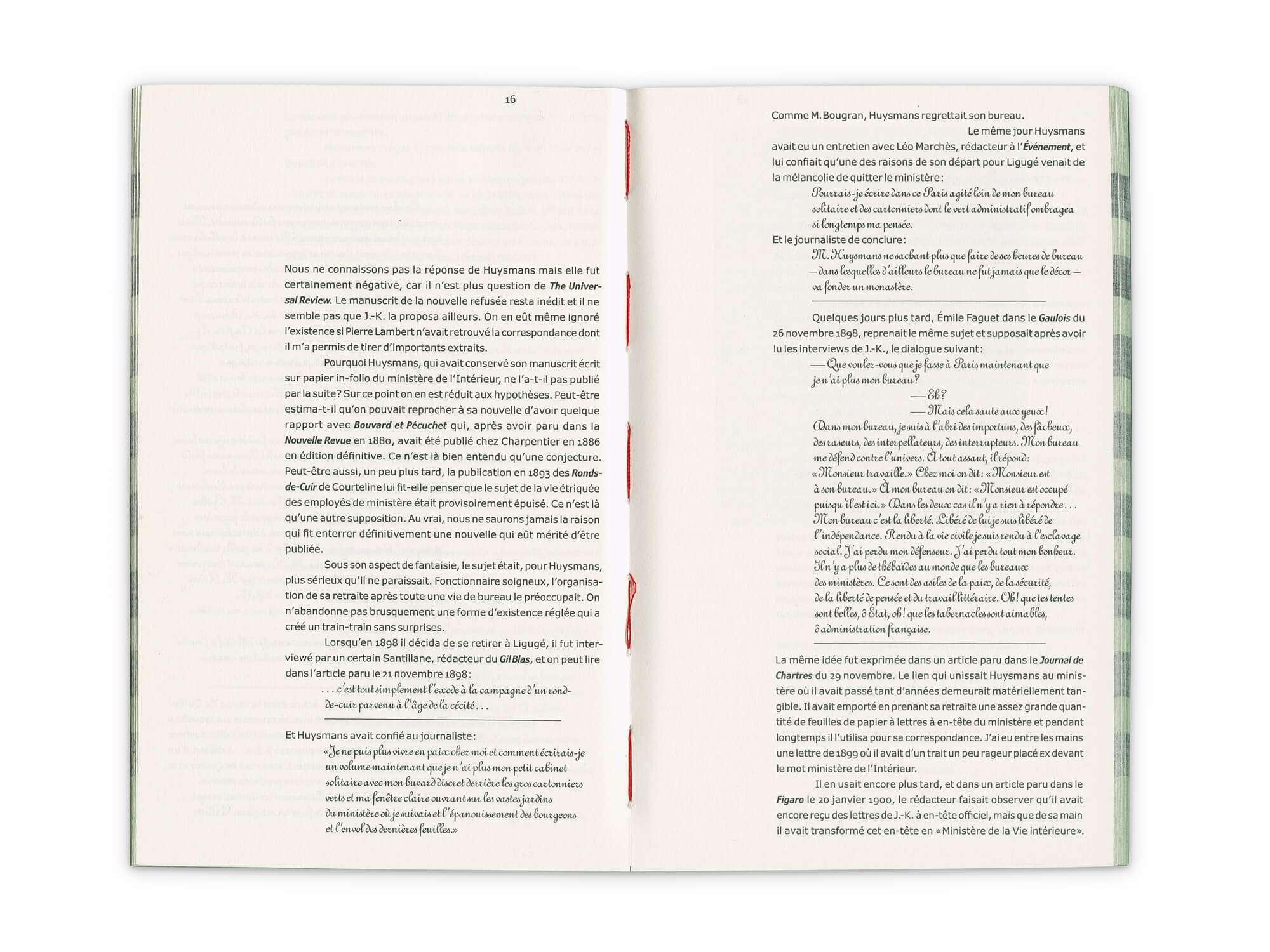Intérieur du roman des éditions Cent Pages écrit par Joris-Karl Huysmans