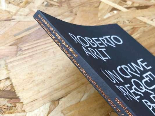 La couverture du livre un crime presque parfait de Roberto Arlt